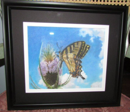 Painting of Swallowtail